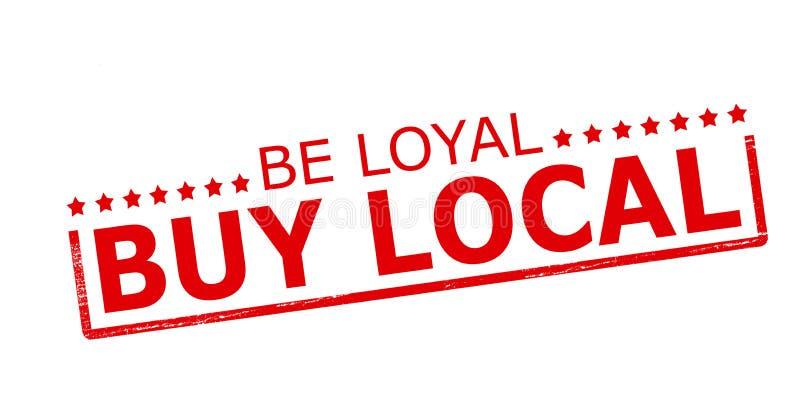 Loyaal ben kopen lokaal royalty-vrije illustratie