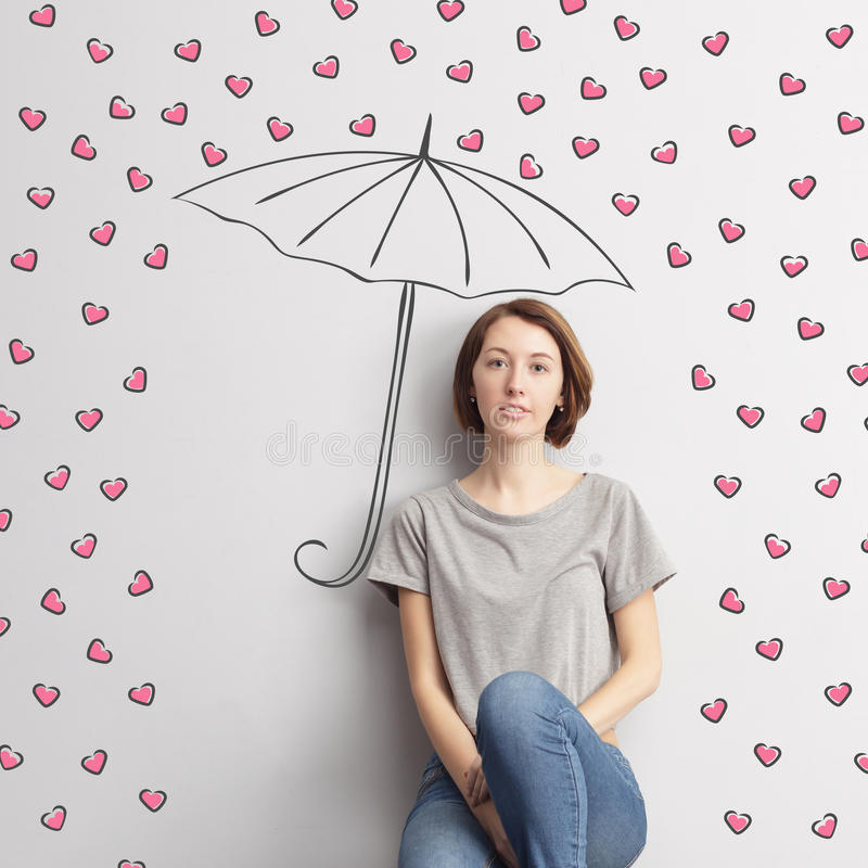 Loyalty and dedication to loved ones. royalty free stock photos
