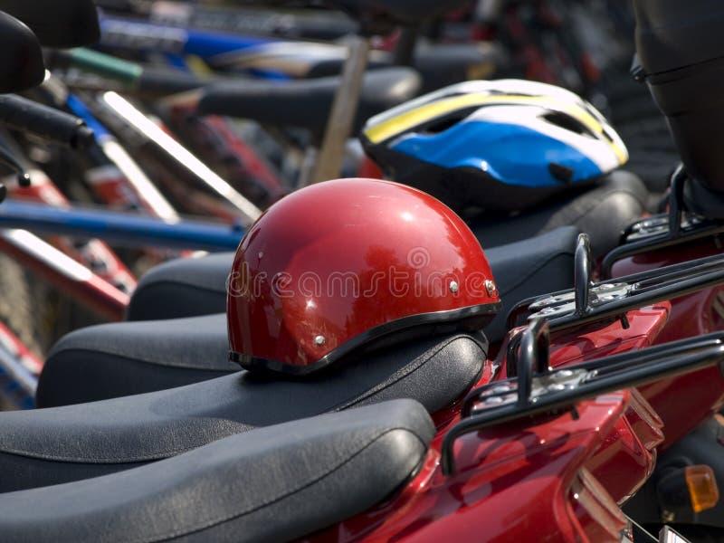 Loyer-un-vélo photos libres de droits