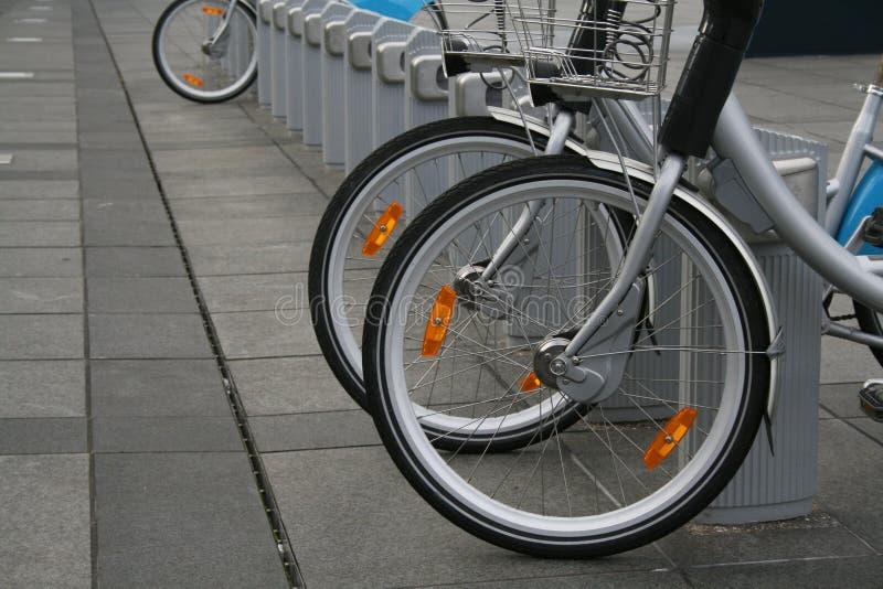 Loyer-un-Vélo photographie stock