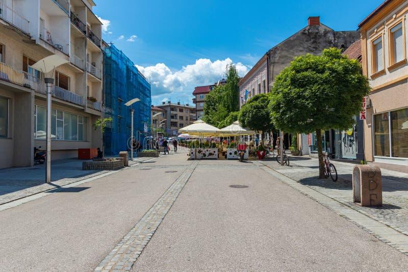 Main Street Luxury Boutique Exterior Stock Image Image