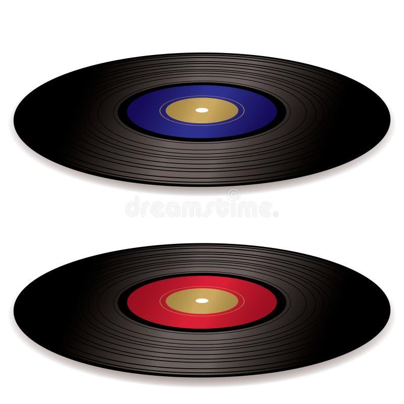 LP record album flat