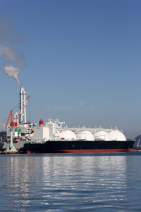 LPG货船 免版税库存照片