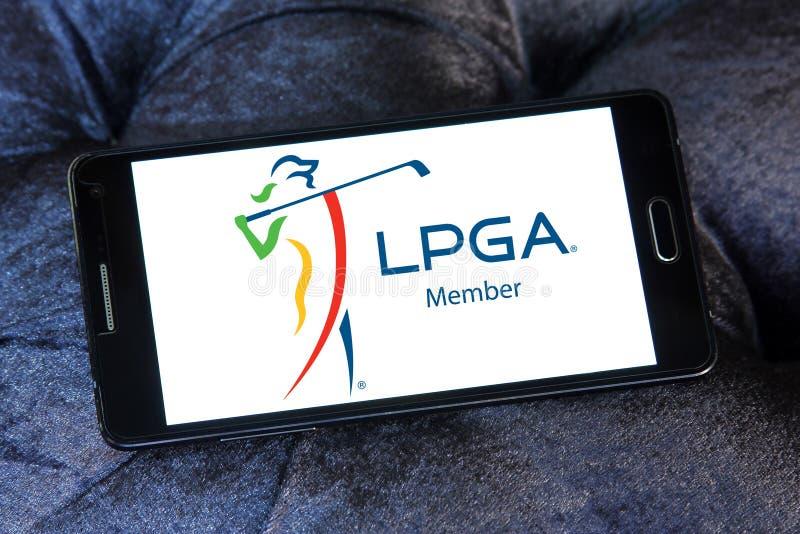 LPGA商标 免版税库存图片