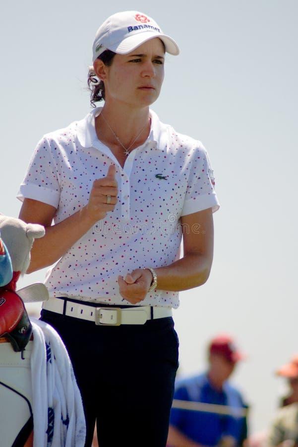LPGA Progolfspieler Lorena Ochoa lizenzfreies stockfoto