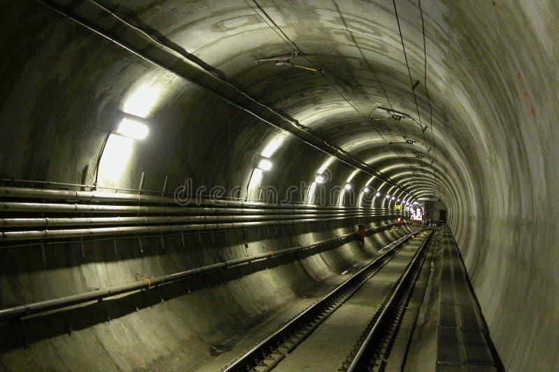 lrt隧道 免版税库存照片