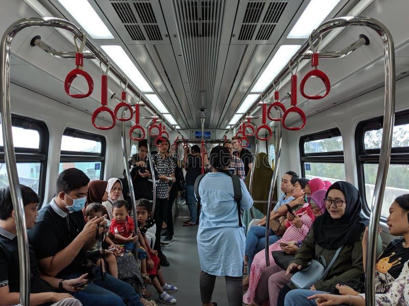 LRT Τζακάρτα στοκ εικόνες