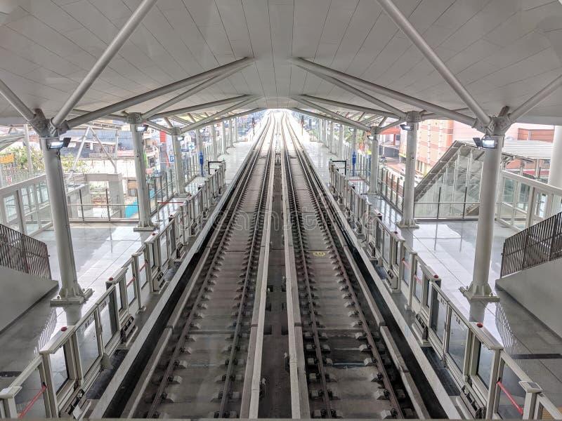 LRT Τζακάρτα στοκ φωτογραφία