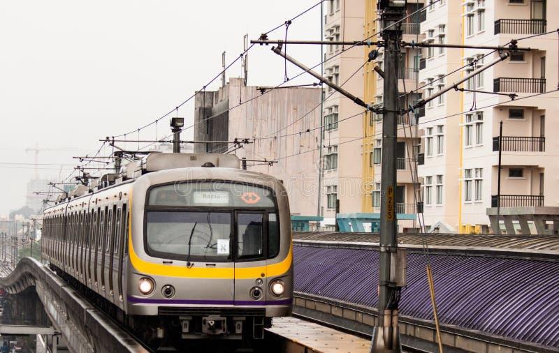 LRT-2 photos libres de droits