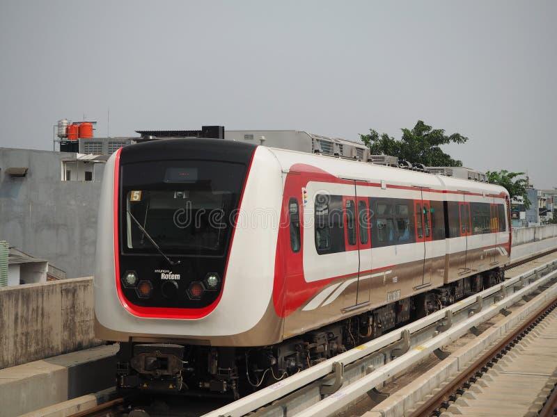 LRT Dżakarta obraz stock