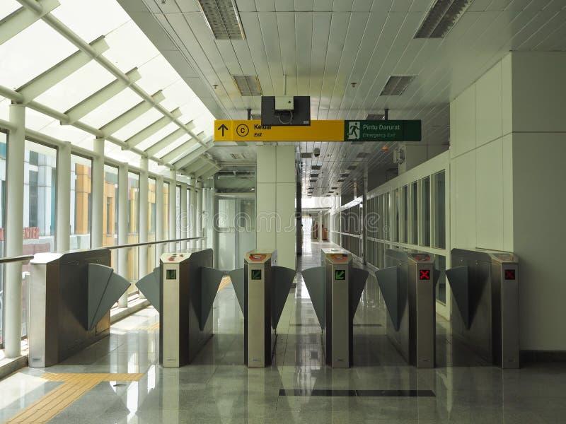 LRT Jakarta fotografía de archivo