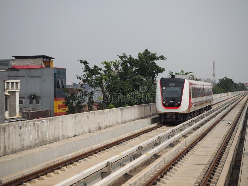 LRT Jakarta imagen de archivo libre de regalías