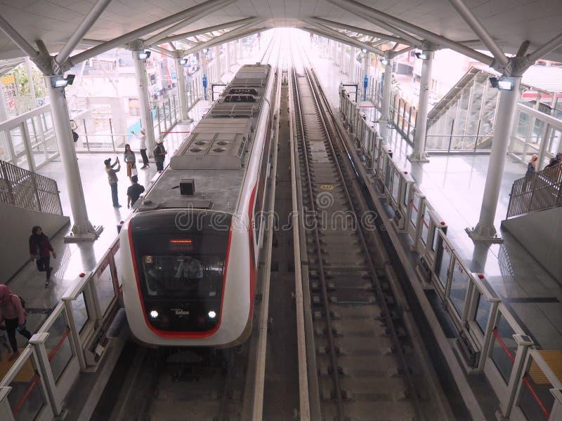 LRT Jakarta stockbilder