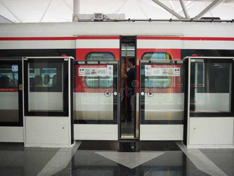 LRT Jakarta lizenzfreies stockbild