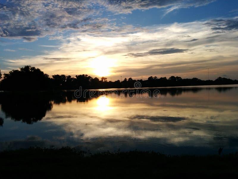 LSU Lakes royalty free stock photo