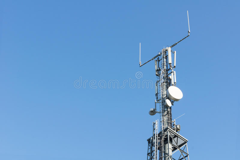 LTE基地 库存照片
