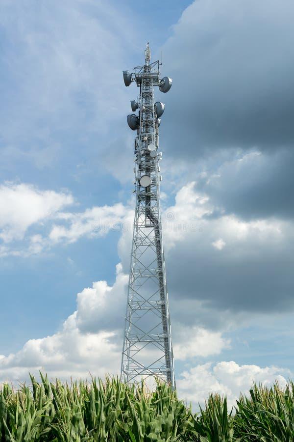 LTE基地 免版税库存照片