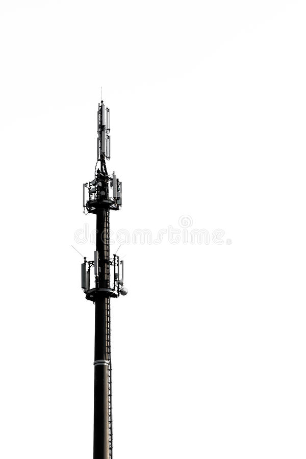 LTE Base Station stock photo