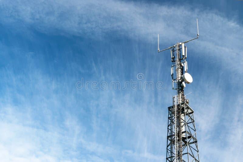 LTE-Basisstation stockfotografie
