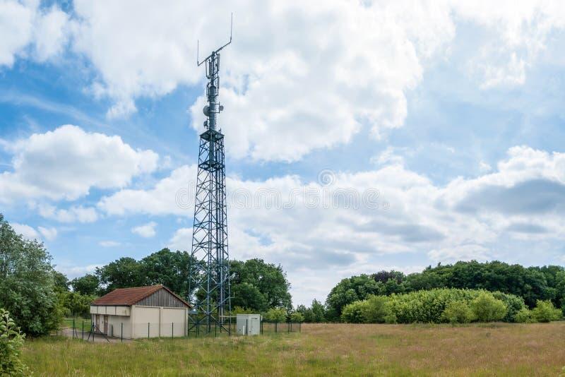 LTE-Basisstation stockbild