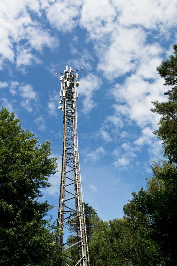 LTE-Basisstation stockbilder