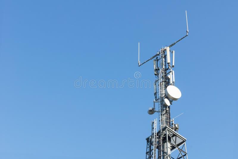 LTE-Basisstation stockfoto