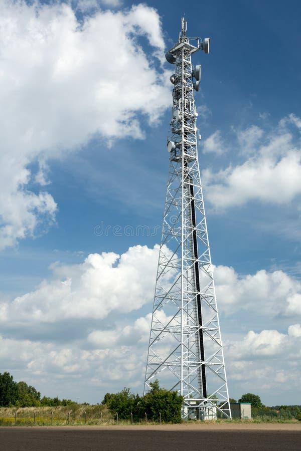 LTE-Basisstation lizenzfreies stockbild