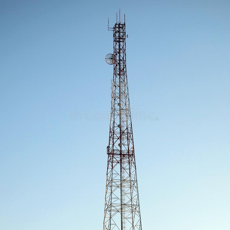LTE-grundstation royaltyfri fotografi
