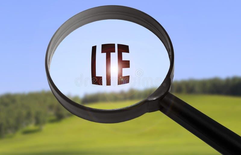 LTE-lteteknologi royaltyfri foto