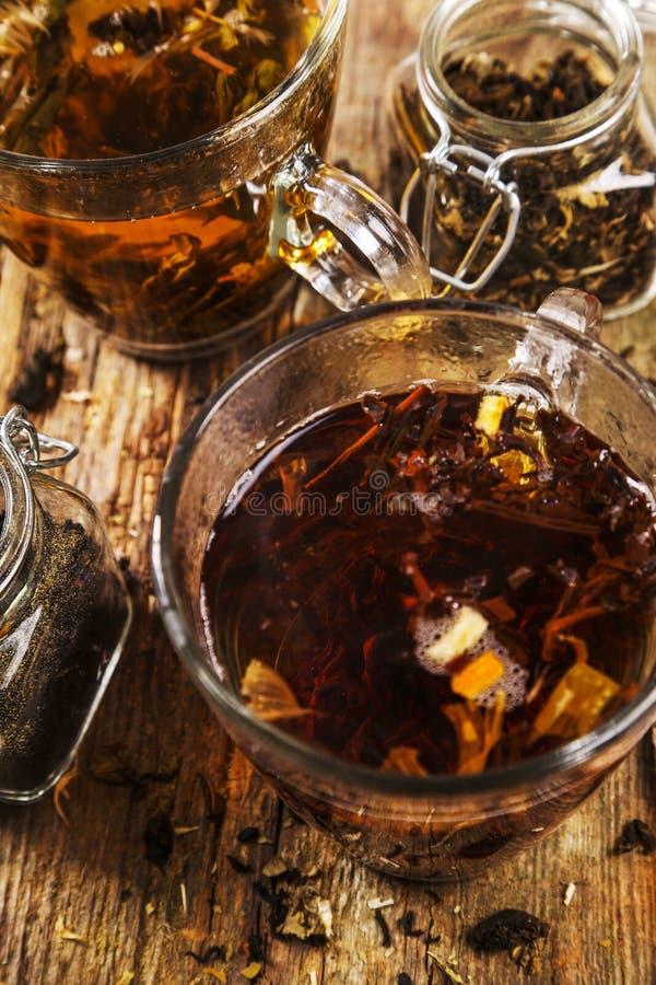 luźna herbaty obraz stock