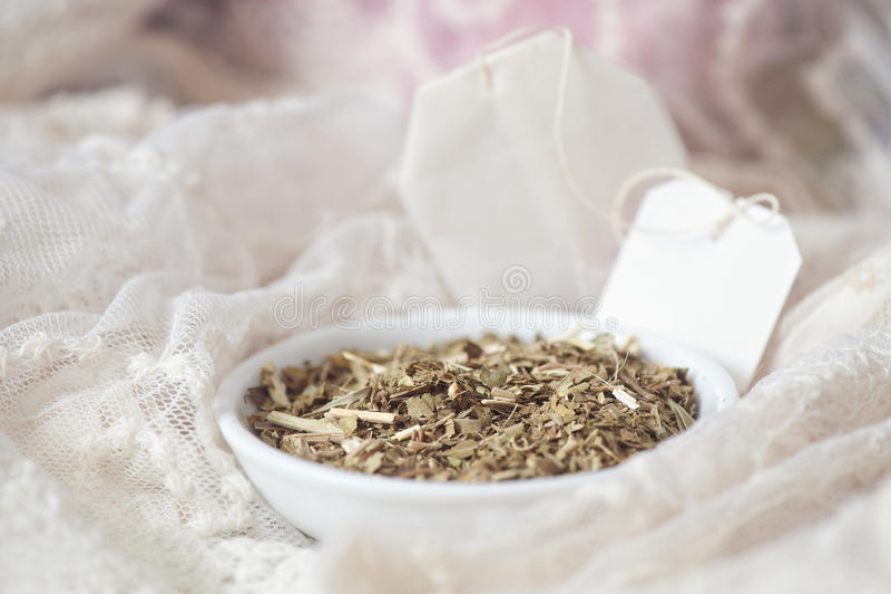 Luźna Passionflower herbata (Passiflora) zdjęcie royalty free