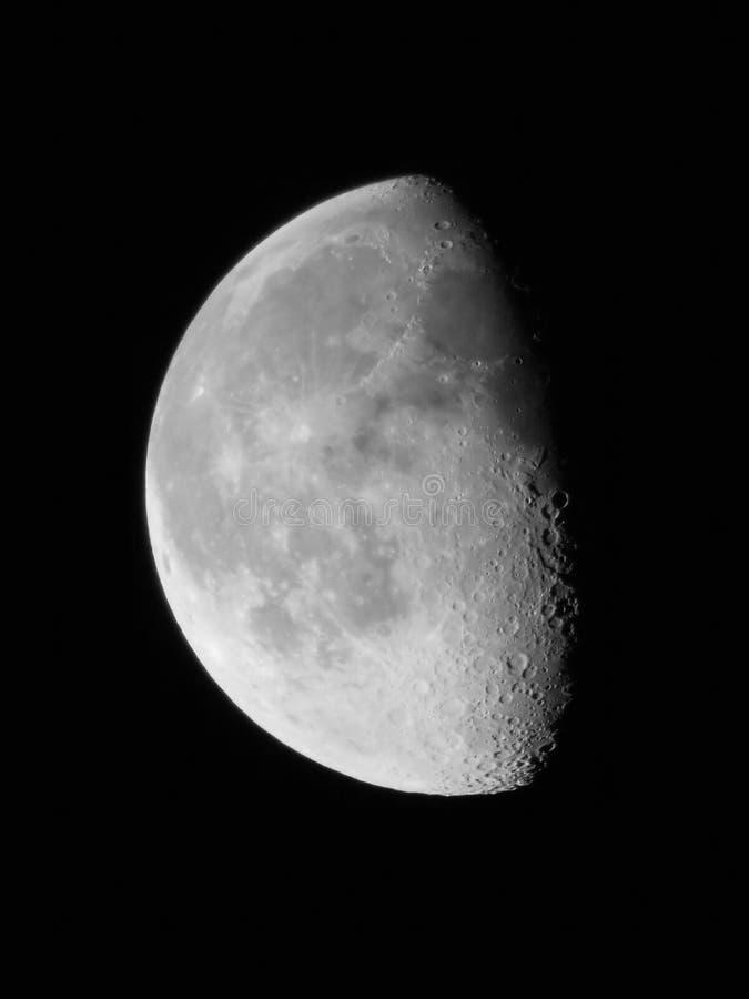 Lua 0.68 Fotografia de Stock