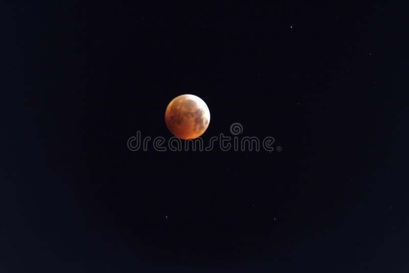 Lua cheia com eclipse fotos de stock