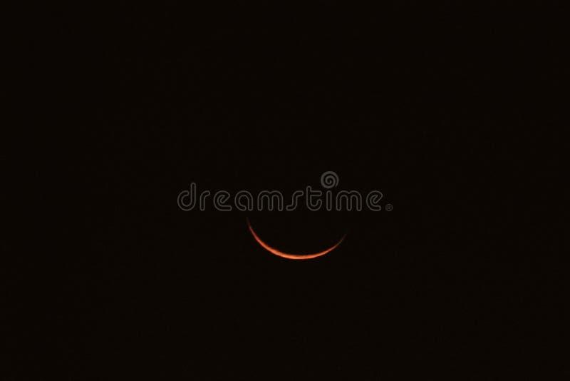 Lua da sombra imagem de stock