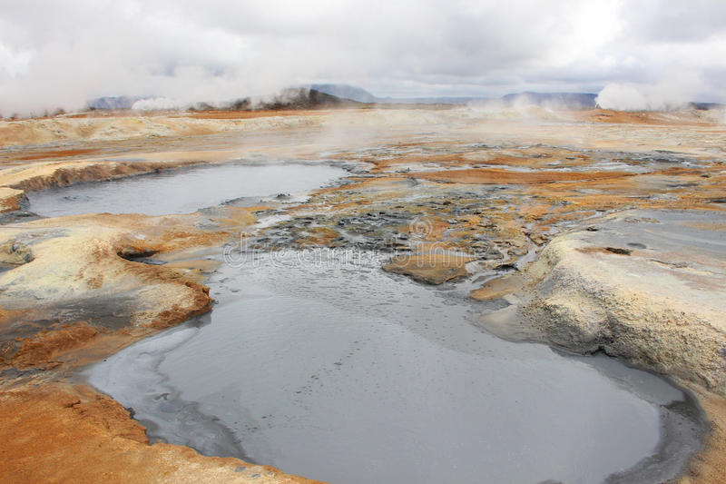 Lua de Islândia imagens de stock royalty free