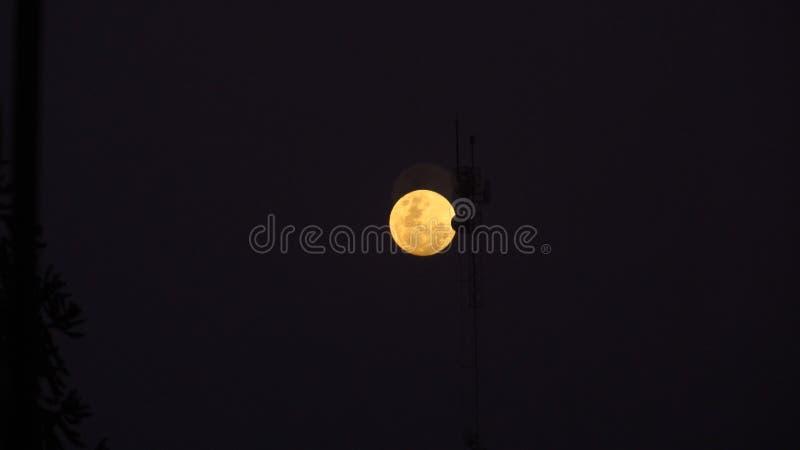A lua em Argentina imagem de stock royalty free