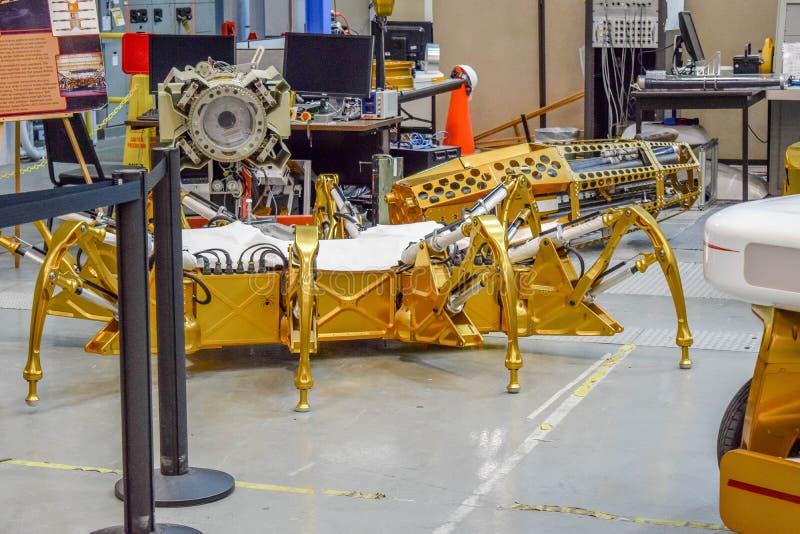 Lua Rover da NASA fotografia de stock