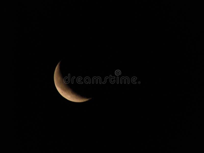 Lua vermelha fotografia de stock royalty free