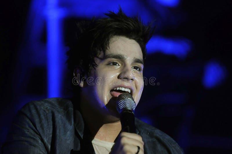 Luan Santana - τραγουδιστής στοκ φωτογραφία με δικαίωμα ελεύθερης χρήσης