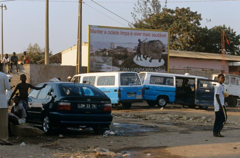 Luanda, Angola royalty-vrije stock foto's