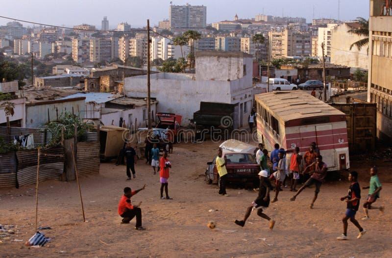 Luanda, Angola stock foto