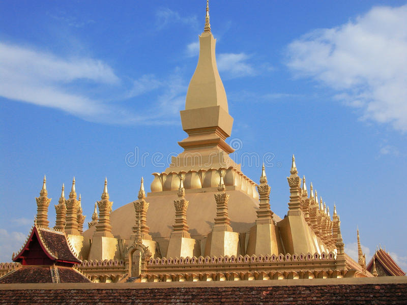 Download That Luang stock photo. Image of interest, architecture - 22610326