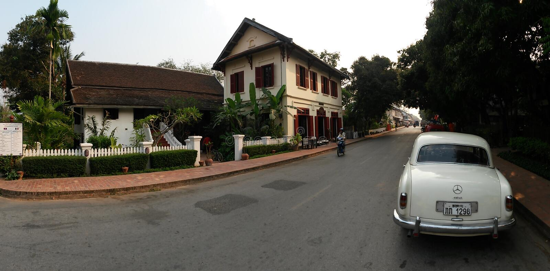 Luang Prabang Λάος, Νοτιοανατολική Ασία, Βιετνάμ στοκ εικόνα