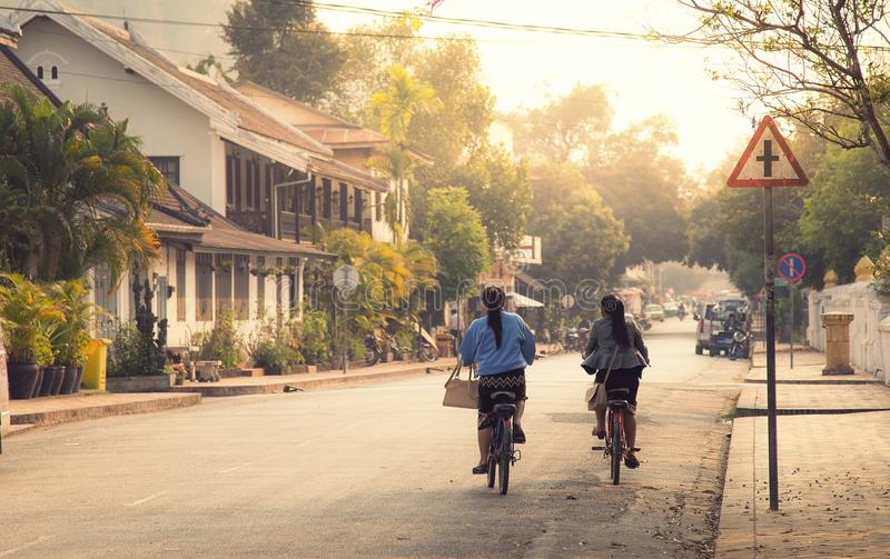 Luang Prabang, Laos immagini stock libere da diritti
