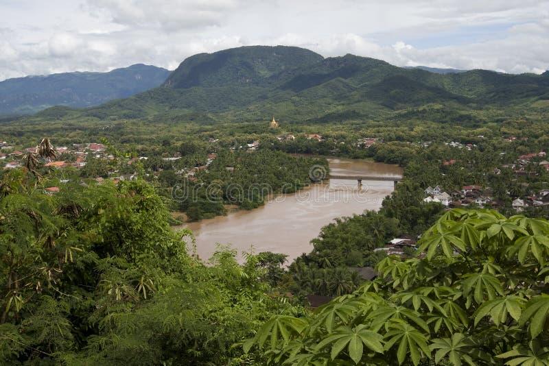 Luang Prabang, Laos immagini stock
