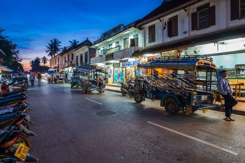 Luang Prabang, Laos foto de stock