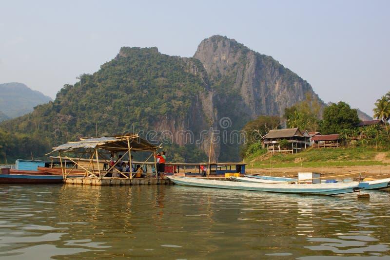 Luang Prabang, Laos fotografia de stock