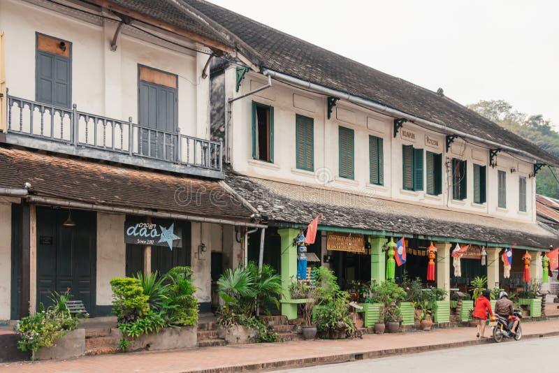 LUANG PRABANG, LAOS - 26 DE OUTUBRO imagens de stock royalty free