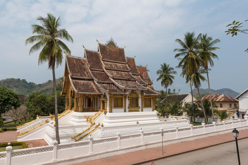 Luang Prabang stanu dom zdjęcie royalty free