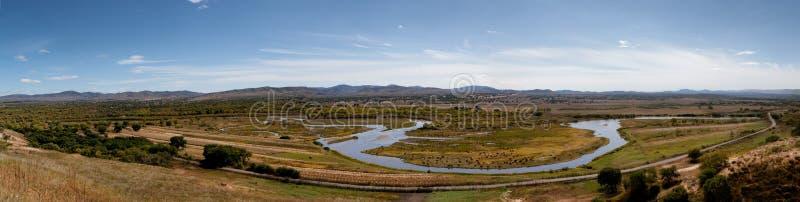 Luanhe Fluss in Chian stockbild
